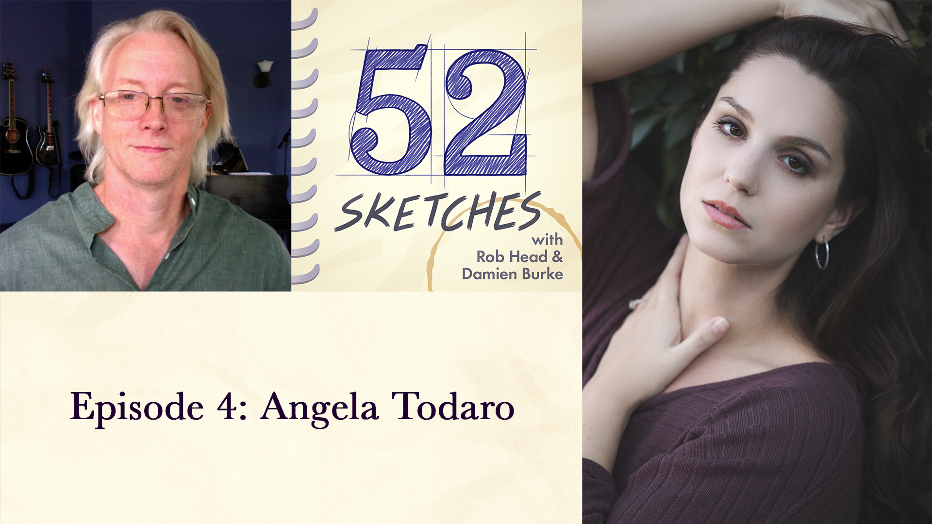 52 Sketches episode 4 — Angela Todaro